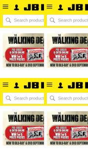 JB HiFi Pre-order The Walking Dead S9 for a cnce to – Win 1 of 5 Walking Dead Prize Packs (prize valued at $374)