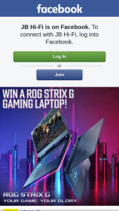 JB HiFi – to Go Into The Running to Score Yourself a Asus Rog Strix G Gaming Laptop