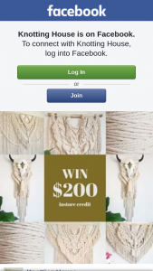 Knotting House – Win $200 to Spend Instore (prize valued at $200)