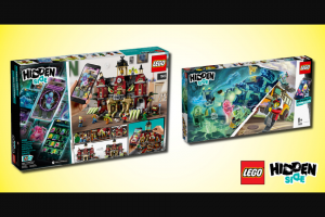 KZone – Win a Lego Hidden Side Prize Pack (prize valued at $900)