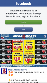 Mega Meats Booval – Win a $100 Meat Voucher Make Sure to Share this Post on Public So We Can See Everyone's Entry