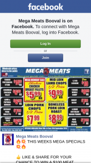 Mega Meats Booval – Win a $100 Meat Voucher Make Sure to Share this Post on Public So We Can See Everyone's Entry (prize valued at $100)