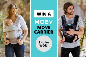 Mum Central – Win a Moby Move Baby Carrier (prize valued at $239.95)
