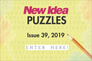 NEW IDEA PUZZLES 39 issue dated 30th September – Win The Prizes Form Part of These (prize valued at $1,000)