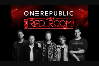 Nova FM Smallzy's sending you to see OneRepublic in Nova's Red Room – Simply Enter Below and Tell Us Why You Need to Be There (prize valued at $5,400)