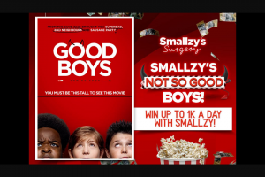 Nova FM – Win Up to 1k a Day With Smallzy (prize valued at $10,000)