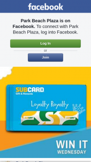 Park Beach Plaza Coffs Harbour – Win a 1 of 10 Subway Australia Loyalty Cards With $10 Credit to Spend In Store
