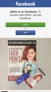 QPAC – Win One of Two 'faith Prince' Prize Packs