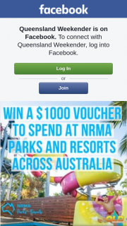 Queensland Weekender – Win a $1000 Voucher to Spend at Any Nrma Parks and Resorts Across Australia (prize valued at $1,000)