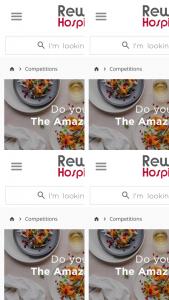 Reward Hospitality – 1 X Robot Cook Cooking Cutter Blender Valued at RRP$4500 Ex Gst & 6 X Graze Rice Bowls (prize valued at $6)