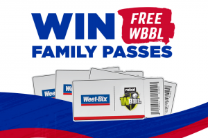 Sanitarium – Win a Wbbl Family Pass (prize valued at $6,000)