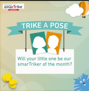 smarTrike – Win a 3 in 1 Activity Center