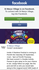 St Marys Village – So for Your Chance To