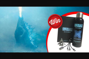 Stack Magazine – Win a Monster Godzilla Ii King of The Monsters Prize