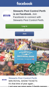 Stewarts Pest Control Perth – Royal Show Tickets