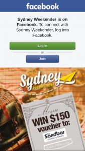 Sydney Weekender – 1 X $150 Voucher to The Mossy Cafe & The Sandbar Batemans Bay (prize valued at $150)