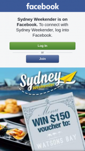 Sydney Weekender – 1 X $150 Voucher to The Watsons Bay Boutique Hotel (prize valued at $150)