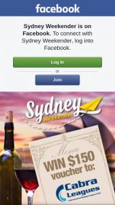 Sydney Weekender – 2 X $150 Vouchers to Cabra Leagues
