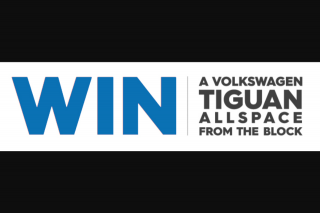 The Block-Nine Network – Win a Versatile 7-seat Tiguan Allspace (prize valued at $67,578)