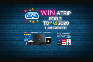 Woolworths-Gaming Cards – Win The Prize (prize valued at $2,889)