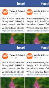 Yatala Drive-In theatre – Win a Free Family Car Pass for Tongiht