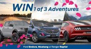 10play – Ford – The Bachelorette – Win 1 of 3 adventures for 2 to Sydney, Yarra Valley and Adrenalin in Noosa