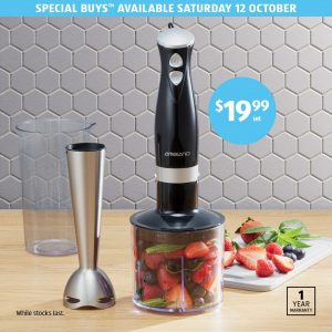 Aldi – Win a stainless stick hand mixer