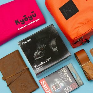 Canon Australia – Win a Kyoyu adventure gear pack