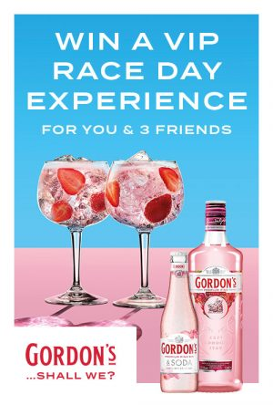 Diageo – First Choice Gordon's Spring Racing 2019 – Win a trip for 4 to Sydney to attend the Longines Queen Elizabeth Race Day