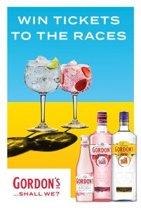 Diageo – Gordon's Spring Racing BWS 2019 – Win 1 of 5 double tickets to the Sydney Championships OR 1 of 5 double tickets to the Melbourne All Star Mile Race Day