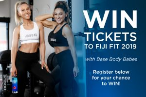 Fiji Water – Fiji Fit – Win a trip for 2 to a FIJI event in Sydney