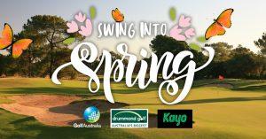Golf Australia – Win 1 of 20 Kayo Basic subscriptions