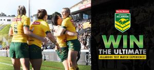 Harvey Norman – Win 4 tickets to the Jillaroos Test Match