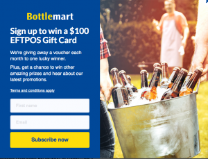 Liquor Marketing Group – Win 1 of 6 EFTPOS gift cards valued at $100 each