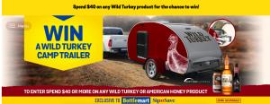 Liquor Marketing Group – Win a Wild Turkey Riptide Teardrop Camper