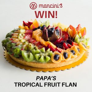 Mancini's Original Woodfired Pizza – Win a Papa's Pasticceria Tropical Fruit Plan
