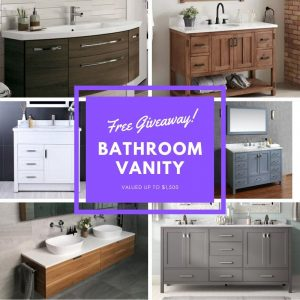 My Beautiful Home – Win a Bathroom Vanity valued up to $1,500