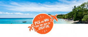 New Caledonia Tourism – Win 1 of 5 experiences (flights, accommodation and car rental included)