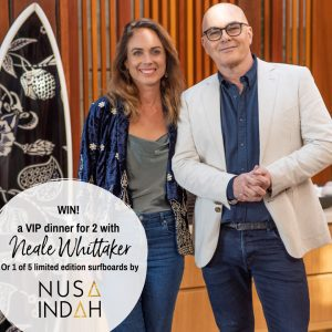 Organic Choice – Win a major prize of a trip for 2 to Sydney and an exclusive dining experience with style guru Neale Whitaker OR 1 of 5 runner-up prizes