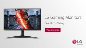 PC World Logitech – Win an UltraGear 1 millisecond IPS gaming monitor