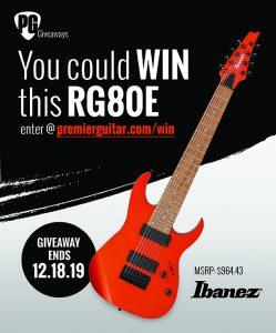 Premier Guitar – Win an Ibanez RG80E guitar