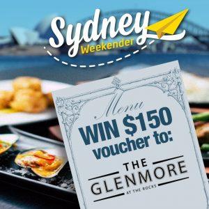 Sydney Weekender – Win 1 of 2 vouchers to Glenmore Hotel