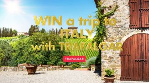Today Show – Trafalgar Tours – Win a trip for 2 to Rome, Italy