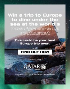 International Traveller – Win a family trip for 4 to Atlantis The Palm, Dubai