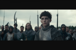 Access Reel – to See The King Starring Timothée Chalamet