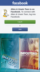 Allen & Unwin teen – Win an Imposters Book Pack