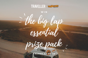 Australian Traveller – a Major Prize to Help You Complete Our Country's Most Incredible Road Trip (prize valued at $3,500)