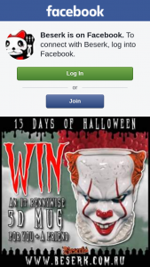 Beserk – Win an It Pennywise 3d Mug for You & a Friend