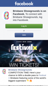 Brisbane Showgrounds – Win a Double Pass to Festival X Brisbane Featuring Some of The World's Biggest Superstars