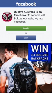 Bullzye Australia – Win 1 of 3 Bullzye Backpacks